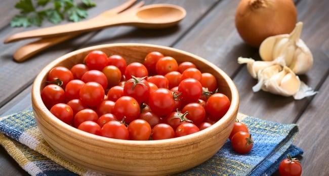 Organic Cherry Tomato & Basil Pasta Recipe 1