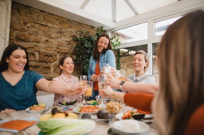 friends-mediterranean-vegan-meal-shared-with-friends