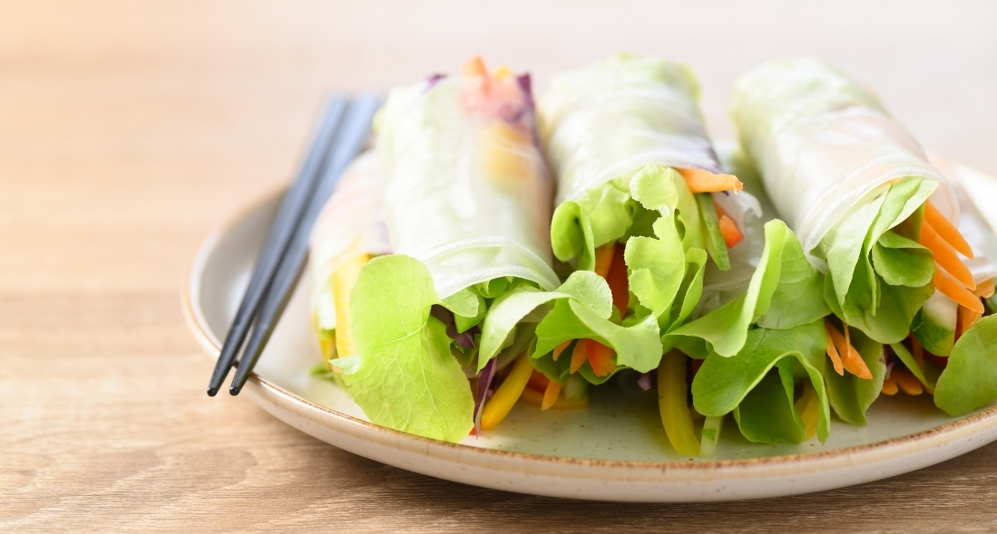 how-to-make-fresh-vegan-spring-rolls 2