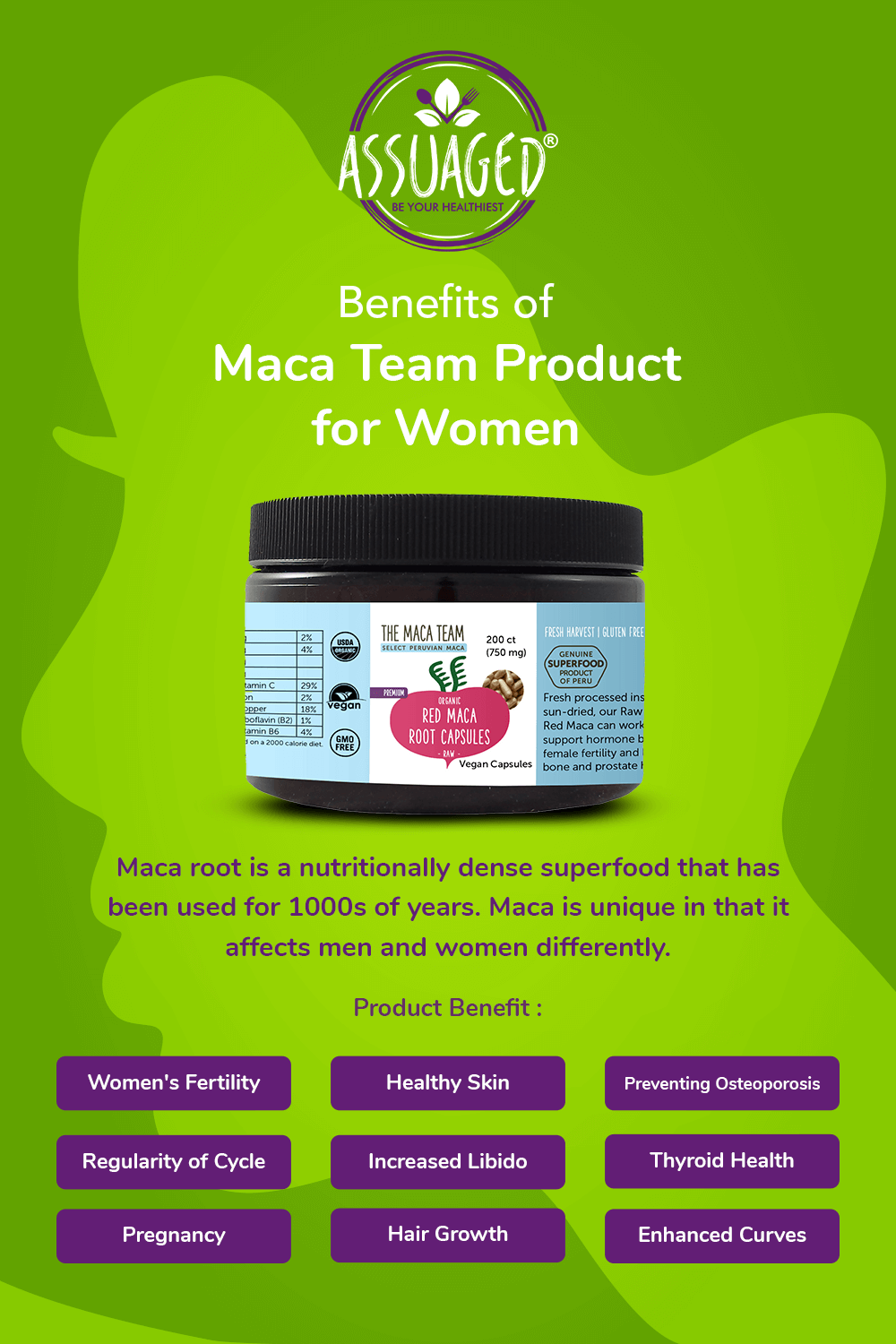 #735031 - Benefits of Maca Team Product for Women  (Pinterest_Post)_060320