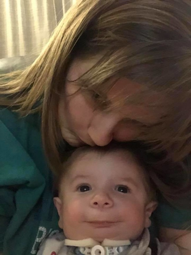 Mother Megan and son Matthew