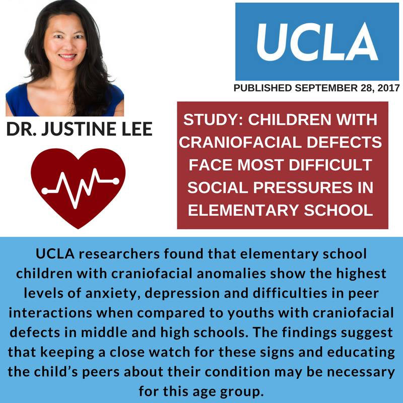 CRANIOFACIAL STUDY BY UCLA DR. JUSTINE LEE