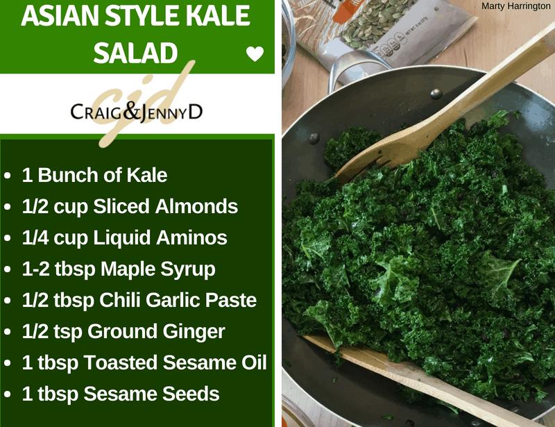 Asian Style Kale Salad
