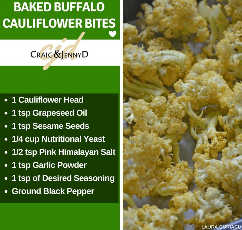 Baked Buffalo Cauliflower Bites Ingredients