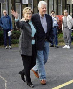 Bill and Hillary Clinton 2017