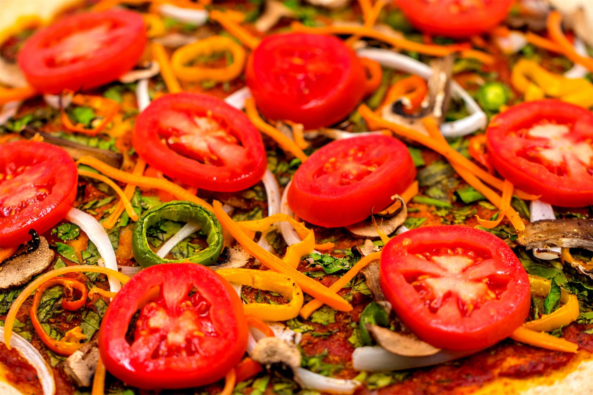 Organic Plant-Based Vegan Pizza