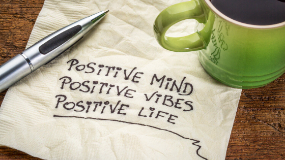 Positive mind vibes life notes for uplifting oneself