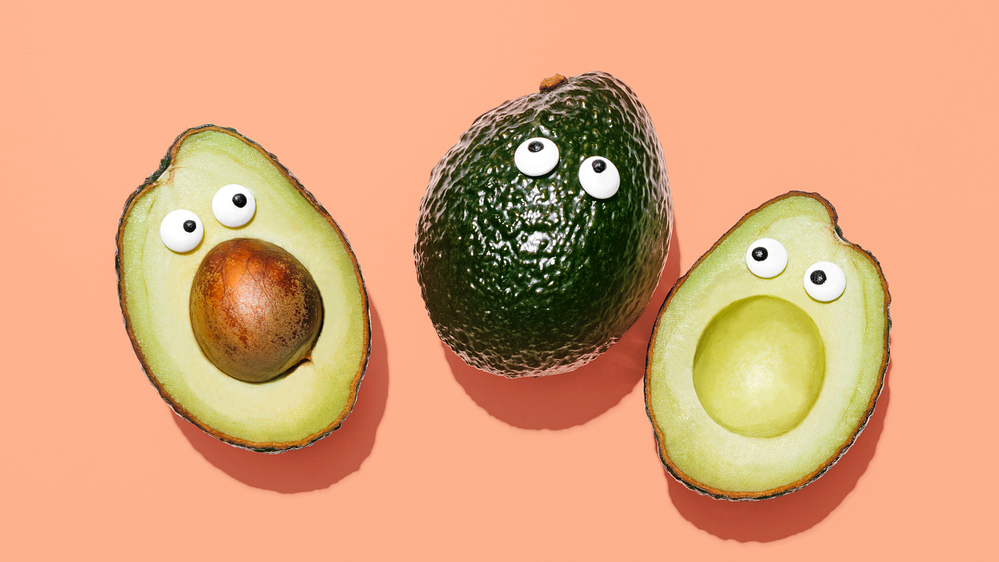 Surprised avocados about to be made into mac and cheese sauce