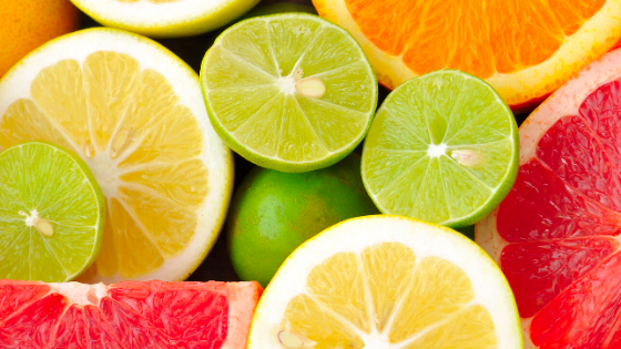 citrus fruits lemon lime grapefruit orange