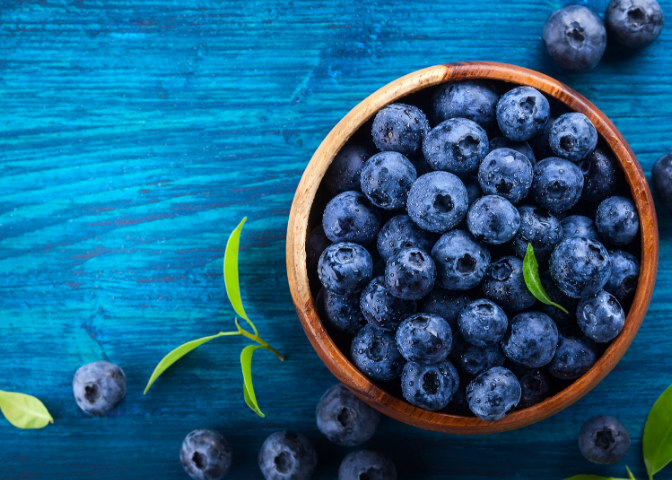 fresh blueberry superfoods blog image