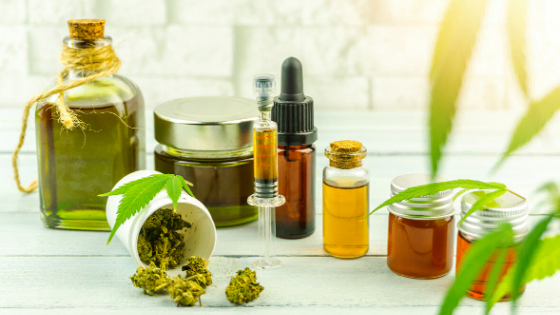 oils, extracts and tinctures, supplement of marijuana leaves and buds