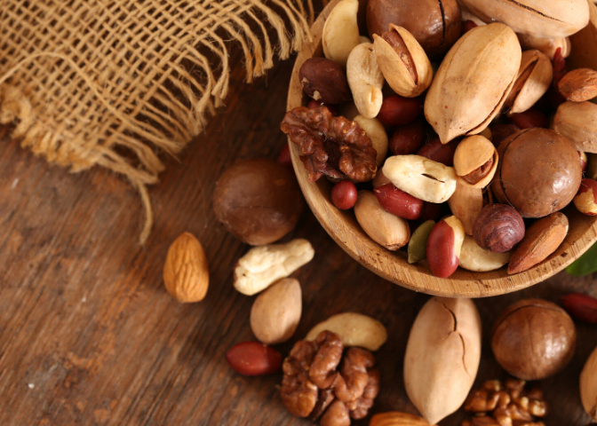 raw mixed nuts superfood blog image