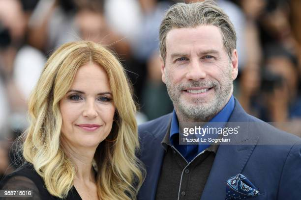 kelly-preston-and-john-travolta-attend-the-photocall-for-rendezvous-picture-id958715016