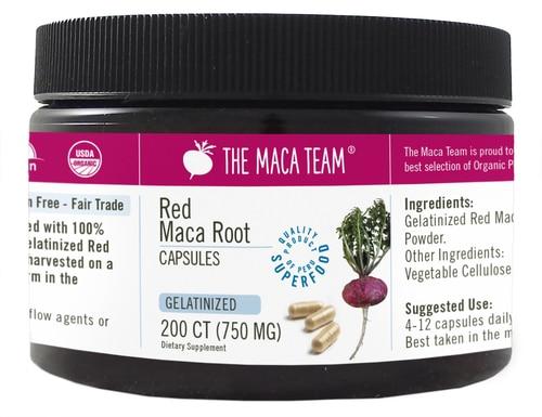 Maca-Team-Red-Gelatinized-Capsules